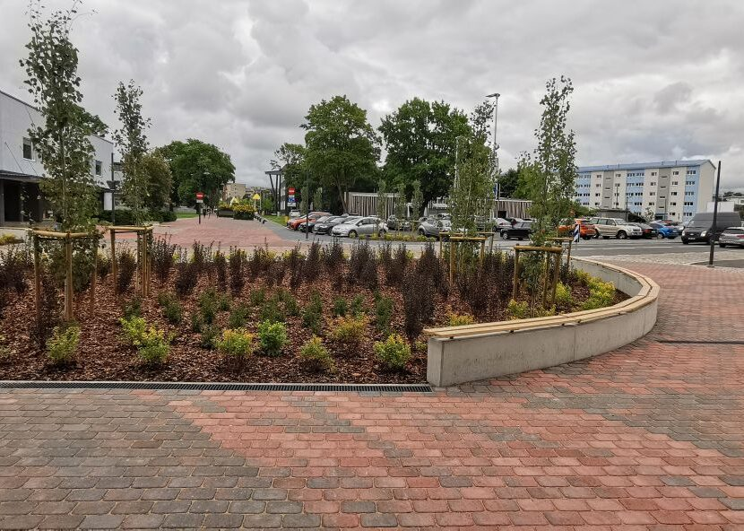 C.R. Jakobson street in Rakvere designed by KLM Projekt has been built