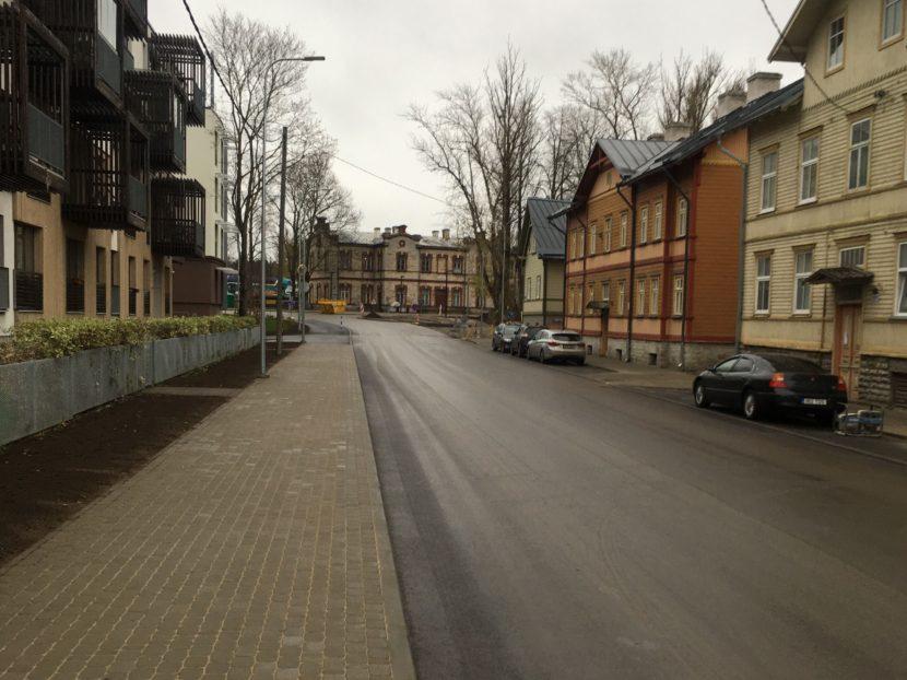 KLM Projekt poolt projekteeritud Juurdeveo tänav on välja ehitatud